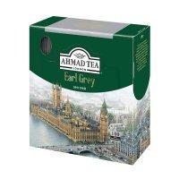 kupit-Чай Ahmad Earl Grey черный с бергамотом 100 пакетиков-v-baku-v-azerbaycane