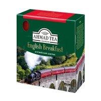 kupit-Чай Ahmad English Breakfast черный 100пак-v-baku-v-azerbaycane