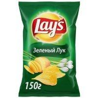 "kupit-Чипсы Lays ""Зеленый лук"" 150г-v-baku-v-azerbaycane"