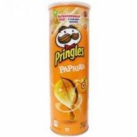kupit-Чипсы Pringles  Принглс со вкусом Паприка 165гр-v-baku-v-azerbaycane