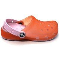 kupit-сандалии Crocs неоновые розовые j1, j2-v-baku-v-azerbaycane