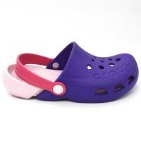 kupit-сандалии Crocs фиолетовый и розовый j1, j2, j3-v-baku-v-azerbaycane
