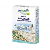 Fleur Alpine Молочная Рисовая каша на козьем молоке 4 мес., 200 г