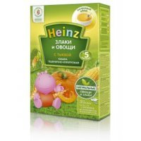 kupit-Каша пшенично-кукурузная с тыквой Heinz 250 г, с 5 месяцев-v-baku-v-azerbaycane