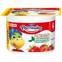 kupit-Йогурт Растишка Клубника 3% 110г-v-baku-v-azerbaycane