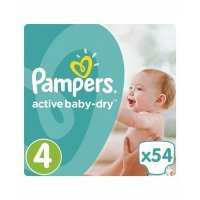 kupit-Подгузники Pampers Active Baby-Dry Junior 11-16кг, 54шт-v-baku-v-azerbaycane
