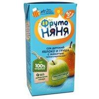 kupit-Сок ФрутоНяня яблоко и груша с мякотью без сахара с 5 месяцев, 0,2л-v-baku-v-azerbaycane