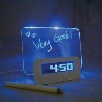 kupit-Будильник с LED доской-v-baku-v-azerbaycane