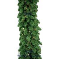 kupit-Елка Royal christmas dakota  garlands prelit(2.70sm)-v-baku-v-azerbaycane