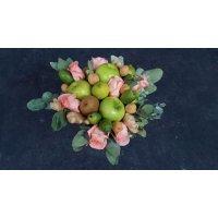 """kupit-Букет """"Роза с яблоками""""-v-baku-v-azerbaycane"""