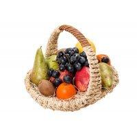 kupit-Фруктовая корзинка с виноградом-v-baku-v-azerbaycane