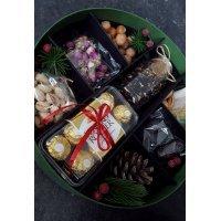 kupit-Подарочная коробка сухофрукты и чай-v-baku-v-azerbaycane