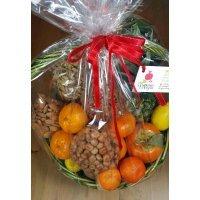 kupit-Корзинка фрукты с орехами-v-baku-v-azerbaycane