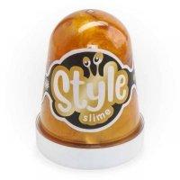 kupit-слайм Lori Style Slime 130мл Золотой с ароматом банана-v-baku-v-azerbaycane