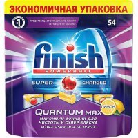 kupit-Таблетки Finish Quantum Max Лимон для посудомоечных машин  54 шт-v-baku-v-azerbaycane