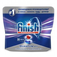 kupit-Таблетки для посудомоечных машин Finish Quantum Max (20 шт.)-v-baku-v-azerbaycane