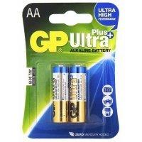 Батарея GP Ultra Plus Alkaline AA(2)