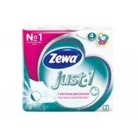 kupit-Туалетная бумага Zewa Just1 4шт-v-baku-v-azerbaycane