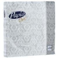 kupit-Салфетки бумажные Papia Decor, трехслойные, в ассортименте, 33 x 33 см, 20 шт-v-baku-v-azerbaycane