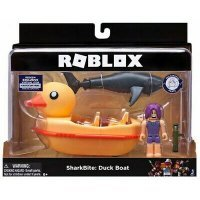 kupit-Игровая коллекционная фигурка Jazwares Roblox Feature Vehicle SharkBite: Duck Boat W2-v-baku-v-azerbaycane