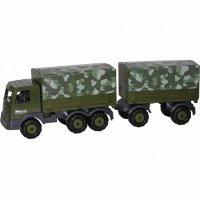kupit-автомобиль Polesie Престиж военный с прицепом 4860-v-baku-v-azerbaycane