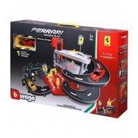 kupit-гараж Ferrari 1:43 с 2 машинками 18-31204-v-baku-v-azerbaycane