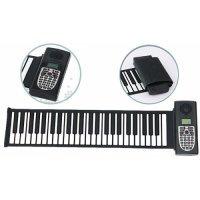 Roll-up силиконовое пианино