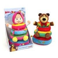 kupit-плюшевая пирамидка Masha&The Bear 9301426-v-baku-v-azerbaycane
