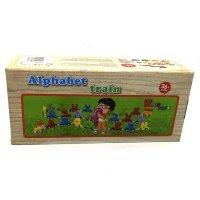 kupit-деревянная игрушка Алфавит Поезд-v-baku-v-azerbaycane