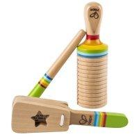 kupit-набор деревянных музыкальных инструментов Hape-v-baku-v-azerbaycane