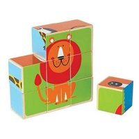 kupit-пазл-кубики Hape Zoo-v-baku-v-azerbaycane