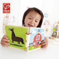 kupit-деревянная книжка Hape на Ферме-v-baku-v-azerbaycane