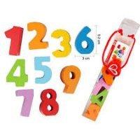 kupit-набор деревянных цифр Hape-v-baku-v-azerbaycane