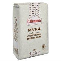 kupit-Мука пшеничная с отрубями С.Пудовъ, 1 кг-v-baku-v-azerbaycane