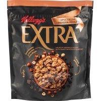 kupit-Гранола-мюсли хрустящая Kellogg's Extra с темным шоколадом и фундуком, 300 г-v-baku-v-azerbaycane