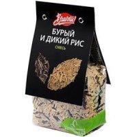 kupit-Bravolli Смесь бурый и дикий рис, 350 г-v-baku-v-azerbaycane