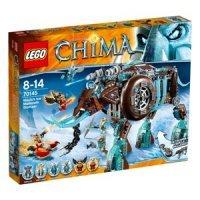 КОНСТРУКТОР LEGO Legends of Chima (70145) Ледяной мамонт-штурмовик Маулы