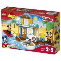 КОНСТРУКТОР LEGO Duplo (10827) Пляжный домик Микки и его друзей