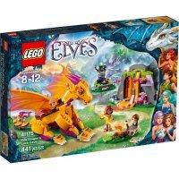 КОНСТРУКТОР LEGO Elves (41175) Пещера с лавой дракона Огня
