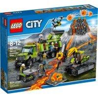 kupit-КОНСТРУКТОР LEGO City (60124) База исследователей вулканов-v-baku-v-azerbaycane