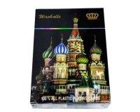 Пластиковые игральные карты Moscow