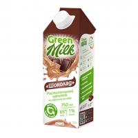 """kupit-Овсяное молоко """"Шоколад"""" Green Milk 750 мл-v-baku-v-azerbaycane"""