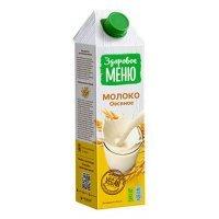 kupit-Молоко Здоровое меню овсяное 1л-v-baku-v-azerbaycane