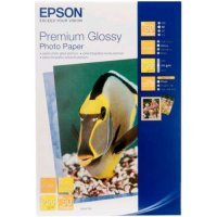 купить Бумага EPSON Premium Glossy Photo Paper 10x15 (50 sheets) (C13S041729)