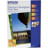 купить Бумага EPSON Premium Semigloss Photo Paper (10x15) 50 sheets (C13S041765)