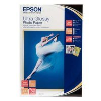 купить Бумага EPSON ULTRA GLOSSY PHOTO PAPER 10x15 50 SHEET (C13S041943)