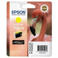 купить Картридж EPSON CARTRIDGE ULTRA CHROME HIGLOSS2INK FOR R1900 YELLOW (C13T08744010)