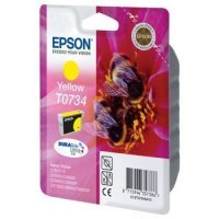 купить Картридж EPSON CARTRIDGE I/C yellow for C79/CX3900/4900/5900 (C13T10544A10)