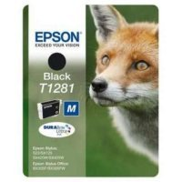 купить Картридж EPSON CARTRIDGE I/C black for S22/SX125_new (C13T12814011)