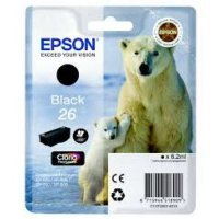 купить Картридж EPSON CARTRIDGE I/C (b) XP600/7/8 pigment (C13T26014010)